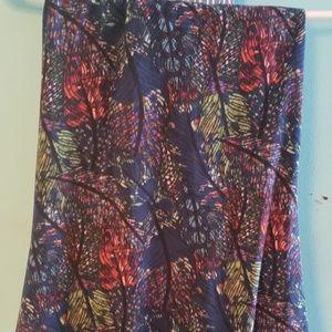 Gorgeous Lularoe maxi skirt size 2X